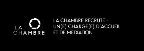 La Chambre recrute un(e) chargé(e) d'accueil et de médiation