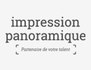 logo impression panoramique